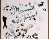 Mermaid Hangout Silkscreen Poster