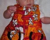 Hawaiian Baby dress