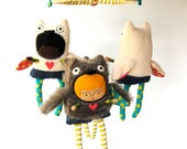Baby Mobile ---  Owl Girls ---  Customize Colors to Match Your Nursery