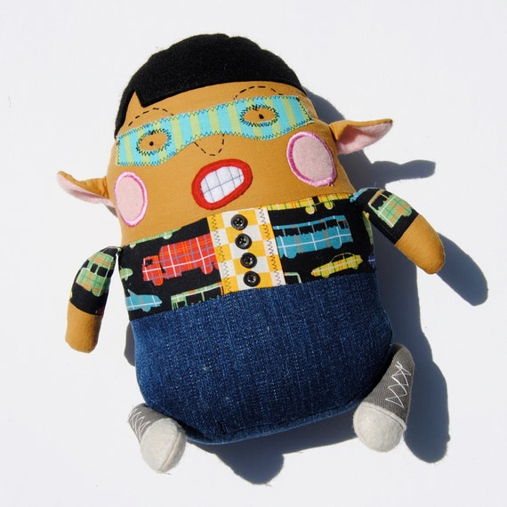 Malvoy a Masked Bandit, featured in STUFFED