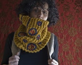 Yellow and Blue Cowl