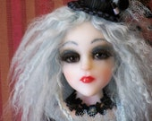 Enchanted  A OOAK Fantasy doll with altered art Fairy by Artist Marcie Hart