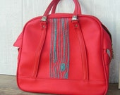 Reserved for LeAnnHughes, please do not Purchase unless that is you. carry-on bag with turquoise tree