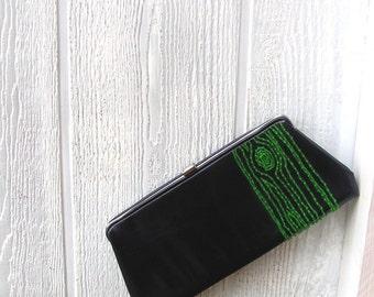green tree clutch