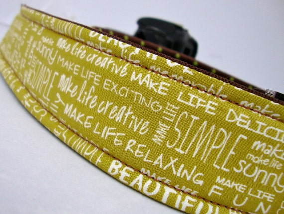 Custom Listing for lauragabs--Camera Strap--Quick Release Buckles Ultra Comfy SLR/DSLR straps