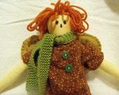Shabby Chic Doll Raggedy Prim Angel