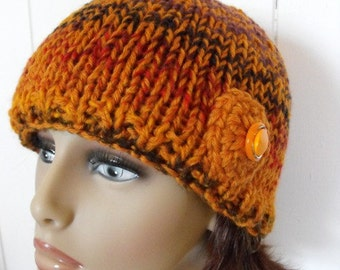 Sale 50% Off Beanie Hat Tuque Slouch Wool Knitted For Women and Teens
