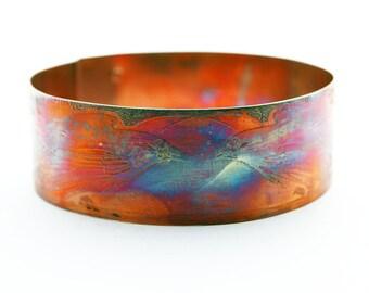 Copper Raven Bracelet Bangle - Crow Bracelet