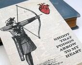 Poison Arrow - eco-friendly love card