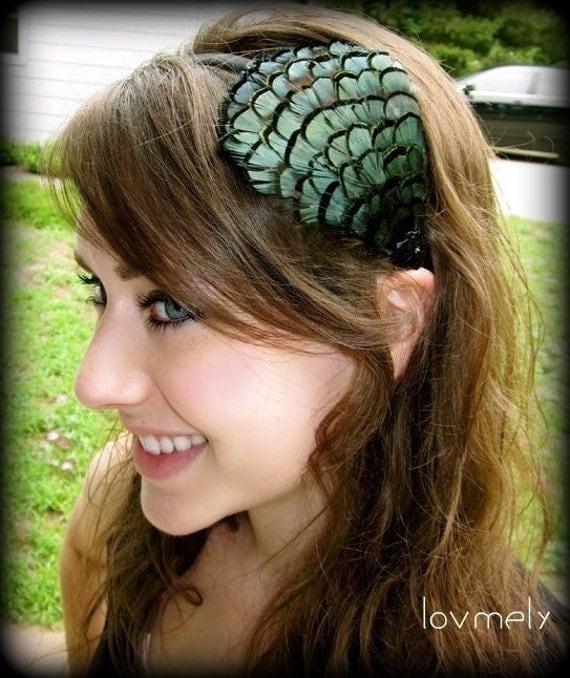 PAGE-Feather Headband