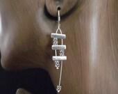 Sterling Silver Siren Earrings