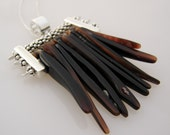 Sterling Silver and Urchin Necklace