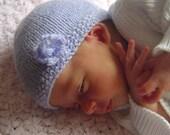 Parisian Flower Baby Hat Pattern PDF