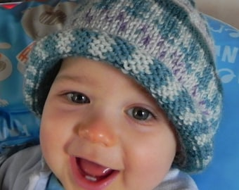 French Elfish Magic Toddler Ski Hat Pattern PDF