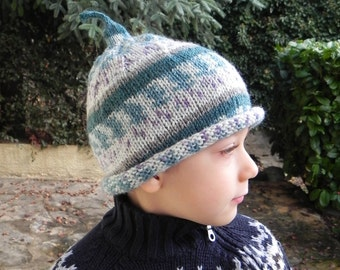 French Elfish Magic Child's Hat Pattern PDF