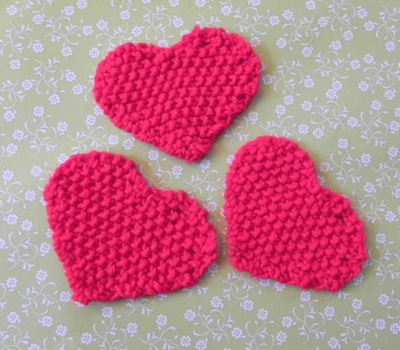 Little Hearts Garland Knitting Pattern PDF from ...