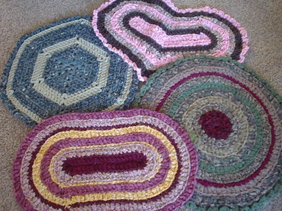 rag rug CUSTOM MADE(a)