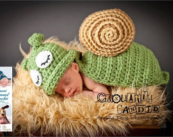 Snail / Slug Animal Cape Newborn Photography Prop