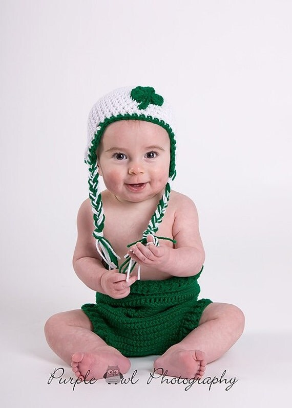Sweetheart Baby Hat - St. Patricks Day Photography Prop - Free Shipping