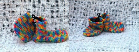 Crochet Pattern 024 - Baby Socks - 2 Sizes