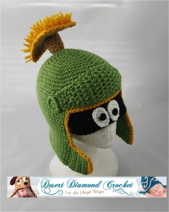 Martian Alien Hat - Any Size - Made to Order