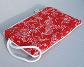 Wristlet - Red pouch