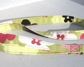 ID Badge Lanyard in pink and green