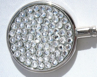 Purse hanger - Swarovski Crystal Clear handbag hook