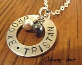 Pure and Chic Eternity Charm Necklace by Carmen Bowe