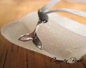 Sterling Silver Ocean Whale Tail Wrap Bracelet by Carmen Bowe