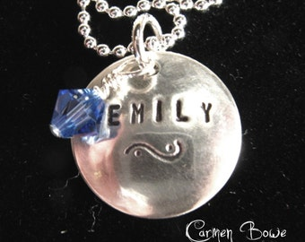 Secret Duo Charm Necklace by Carmen Bowe