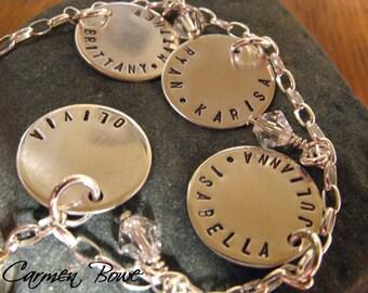 Ultimate 4 Charm Brag Bracelet by Carmen Bowe