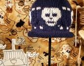 Skully Baby Cap Pattern PDF