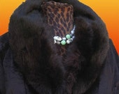 Faux Lamb Jacket Real Fox Collar Sale 50% off
