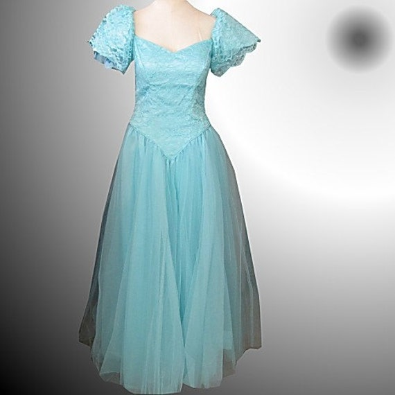 Vintage Fairy Princess Gown Formal