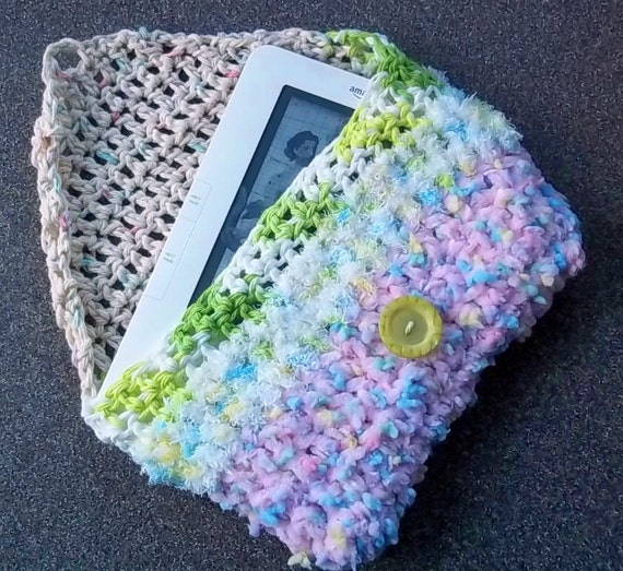 Baby Blanket Crochet Kindle Kozy--for Kindle, Nook or other e-book reader