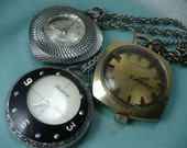 Sale Pendant Watches Mechanical  Lot of (3) Three Swiss Made