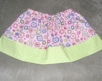 Pink Jewel Twirl Skirt, Size 18 mos.