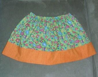Fish Twirl Skirt, Size 2T