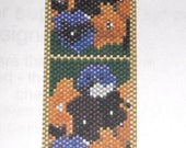 Pansies Galore - PDF Beadweaving Pattern