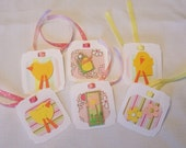 Easter Tags - Set of 6
