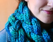Convolution (pattern for braided i-cord cowl)