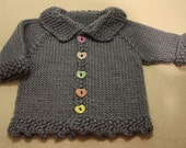 Pip (pattern for knitted baby sweater)