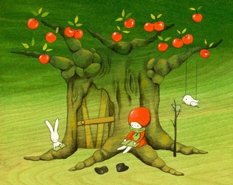 My Apple Tree House -Reading-