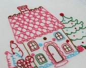 Gingerbread Embroidery Pattern Packet