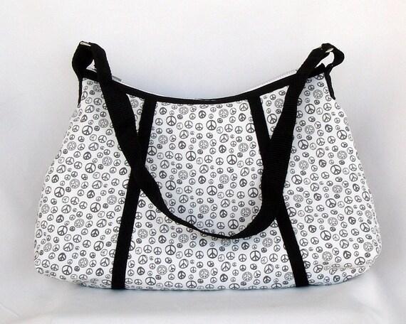 Handmade Eva Bag Peace Sign Purse