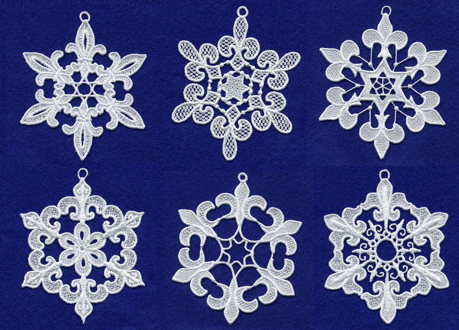 Snowflake Embroidery Designs