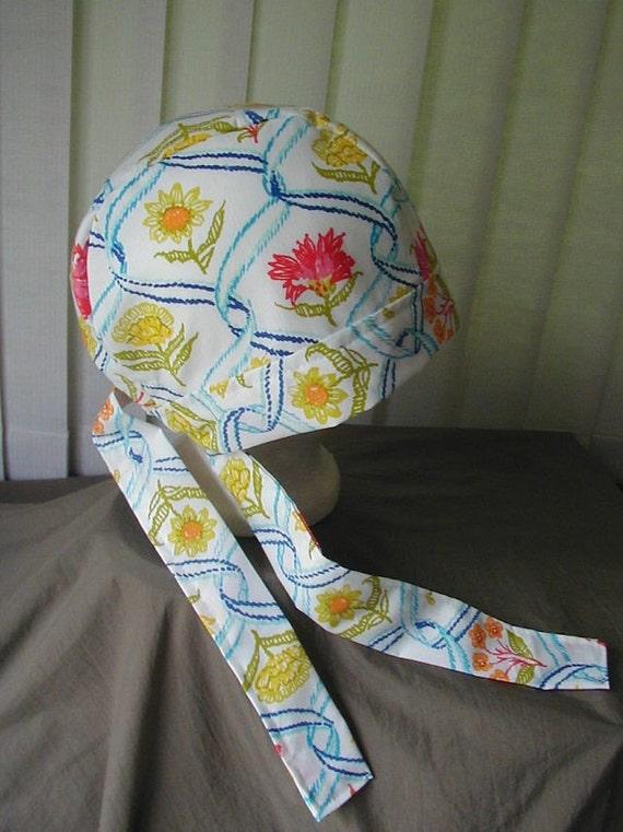 Chemo Cap Skull Cap Doo Rag Headwrap Fitted Bandana No