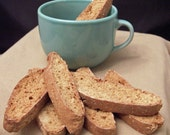 Abby's Apple Sesame Biscotti