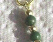 Small Chrysocolla Single Stitch Marker
